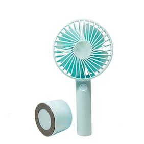 IMMUTABLE Rme ml 9n mini usb portable rechargeable air handheld electric fan USB Gadgets ( Assorted )