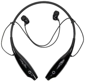 Mobile Accessories World BT HEADSET FOR ALL SMART PHONES In-ear Bluetooth Headsets ( Black )