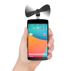 Mobile Phone Mini Fan with Micro Pin for Andriod Devices USB Fan(Assorted)