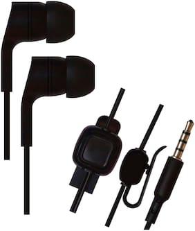 SHINING ZON In-Ear Wired Headphone ( Black )