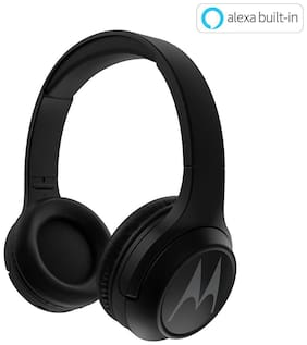 Motorola Escape 210 Over-Ear Bluetooth Headset (Black)