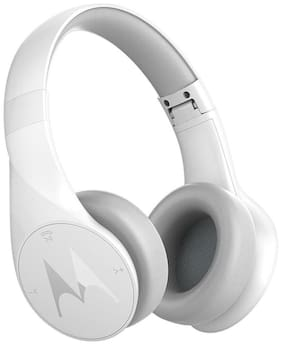 Motorola Pulse Escape Headphones (White)
