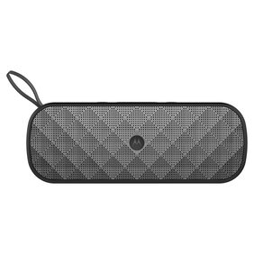 Motorola Sonic Play+ 275 SP007 Stereo Bluetooth Speaker with FM Radio and Micro SD Card Playback (Black)