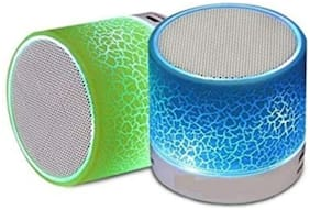 MS TRADING COMPANY S10 Bluetooth Portable Speaker ( Assorted )