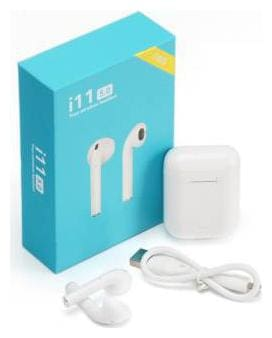 MS TRADING COMPANY i11s-Tws In-Ear Bluetooth Headset ( White )
