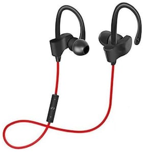 MS TRADING COMPANY QC-10S In-Ear Bluetooth Headset ( Red )