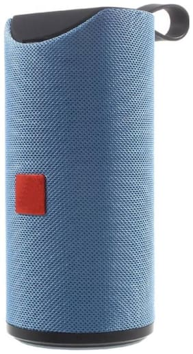 MS TRADING COMPANY Tg-113 Bluetooth Portable speaker ( Blue )