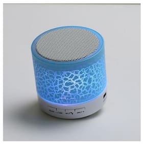 MS TRADING COMPANY S10 Bluetooth Portable speaker ( Blue )