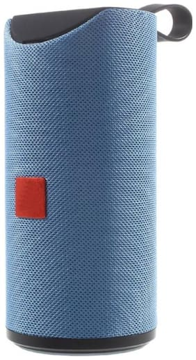 MS TRADING COMPANY Bluetooth Portable Speaker ( Blue )