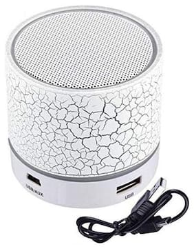 QUXXA S10 Bluetooth Portable speaker ( White )