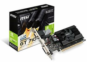 MSI GT 710 2GD3 LP GeForce GT 710 2GB DDR3 PCIe 2.0 x16 Low-Profile Graphic Card