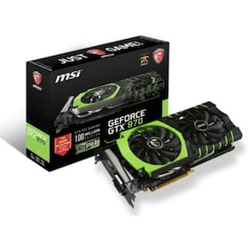 MSI NVIDIA GeForce GTX 970 Gaming 100ME 4 GB GDDR5 Graphics Card