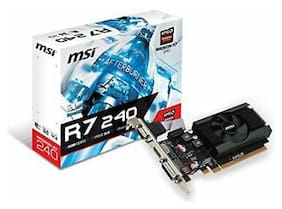 MSI R7 240 2GD3 LP Radeon R7 240 Graphic Card - 730 MHz Core - 780 MHz Boost