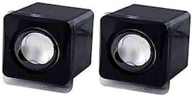 QUXXA Wired Portable speaker ( Black )