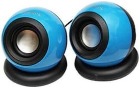 QUXXA Wired Portable speaker ( Blue )