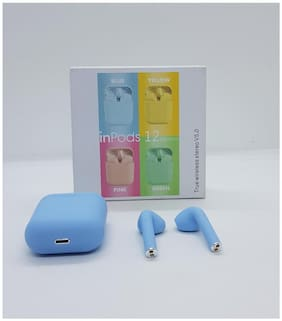 QUXXA InPods-12 In-Ear Bluetooth Headset ( Assorted )