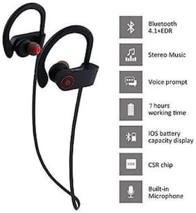 MS TRADING COMPANY In-Ear Bluetooth Headset ( Black )