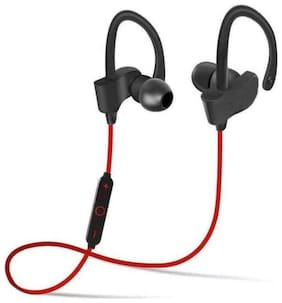BTK Trade QC-10 On-Ear Bluetooth Headset ( Red )