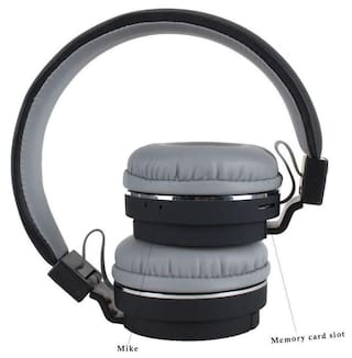 f197b39fa35 MSTC SH12 wireless/ Bluetooth Headphone With FM and SD Card Slot/ with  music and