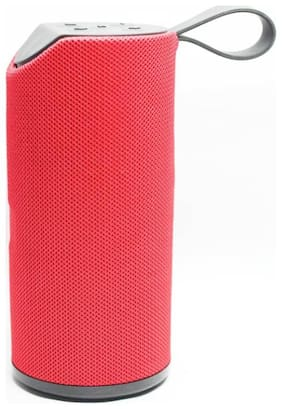 MS TRADING COMPANY TG-113 Bluetooth Portable Speaker ( Red )