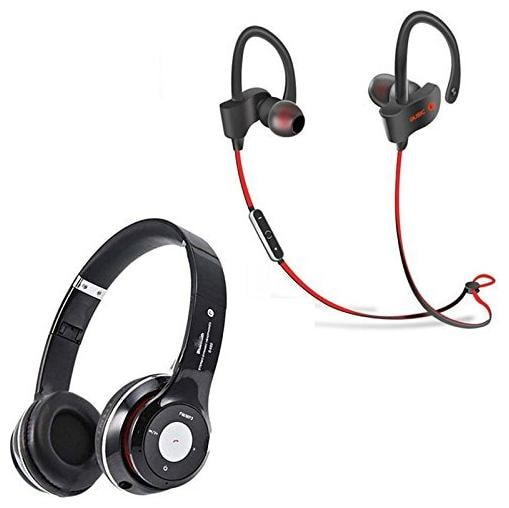 My Style S460 Bluetooth Wired   Wireless Headphones