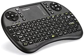 MyStyle Mini 2.4Ghz Wireless Bluetooth Touch pad Keyboard With Mouse For Pc/Pad/360Xbox/Ps3/Google Android Tv Box/Htpc/Iptv 2.4G - Black