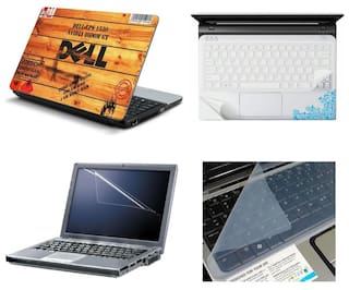 Buy Namo Arts 4in1 Laptop Accessories Combo - Laptop Skins 15 6 inch