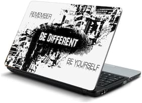Namo Arts  Be different Laptop Skin Stickers for HP-Dell-Lenovo-Acer-Asus 15.6 inch Laptops / Notebooks