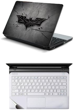 Namo Arts Combo of Laptop Skins 15.6 inch Stickers with Laptop TrackPad Skin for All Laptop - Notebook Broken Knight