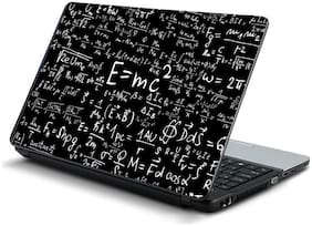 Namo Arts  E=mc Square Laptop Skin Stickers for HP-Dell-Lenovo-Acer-Asus 15.6 inch Laptops / Notebooks