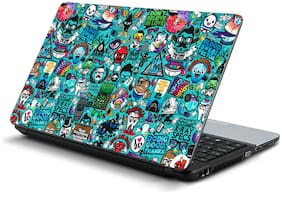 Namo Arts  Hipster  Laptop Skin Stickers for HP-Dell-Lenovo-Acer-Asus 15.6 inch Laptops / Notebooks