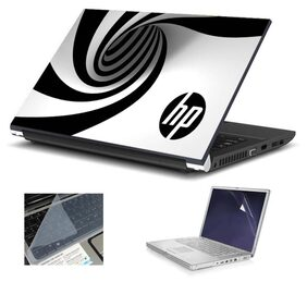 Namo Arts Laptop Skins with Laptop Screen Protector and Laptop KeyGuard for All Laptop - Notebook  PTMHQ110011006 HP Icecream