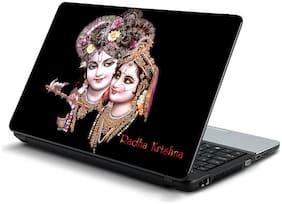 Namo Arts  Radha Krishna Laptop Skin Stickers for HP-Dell-Lenovo-Acer-Asus 15.6 inch Laptops / Notebooks