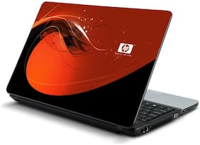 Namo Arts  Red HP Laptop Skin Stickers for HP-Dell-Lenovo-Acer-Asus 15.6 inch Laptops / Notebooks