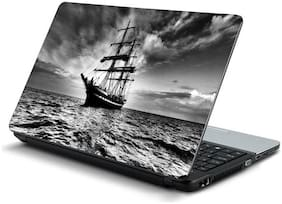 Namo Arts  Ships Sailing Laptop Skin Stickers for HP-Dell-Lenovo-Acer-Asus 15.6 inch Laptops / Notebooks
