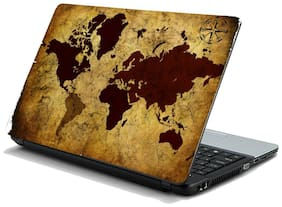Namo Arts  Vintage World Map Laptop Skin Stickers HP-Dell-Lenovo-Acer-Asus Laptops/ Notebooks 15.6 inch
