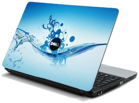 Namo Arts  Water Dell Laptop Skin Stickers HP-Dell-Lenovo-Acer-Asus Laptops/ Notebooks 15.6 inch
