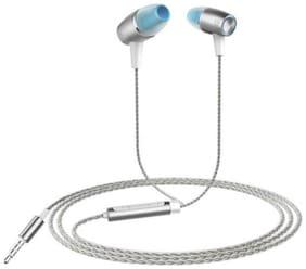 NEBULLA In-Ear Wired Headphone ( Silver )