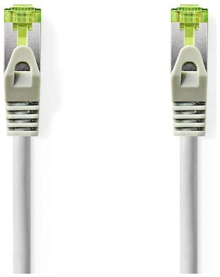 Nedis Cat 7 PiMF Network Ethernet Cable | RJ45 Male - RJ45 Male | 1.0m (Grey)