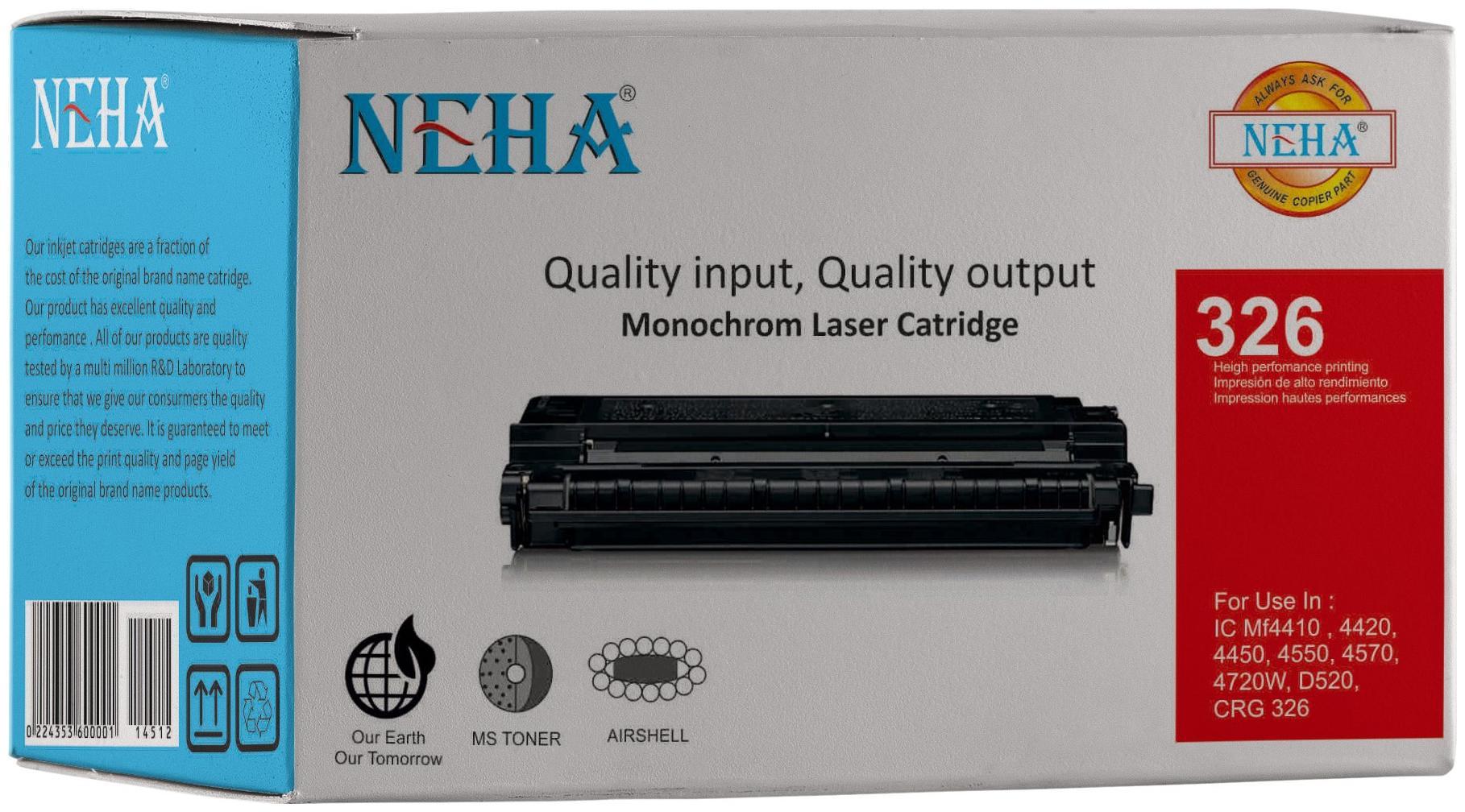 Neha 326 Compatible Laser Toner Cartridge for Canon LBP 6200d