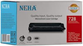 Neha 728 Compatible Laser Toner Cartridge for Canon LBP MF4420/4412/4410/4452/4450/4550d/4570dn/D520