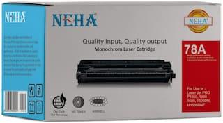 Neha 78A Compatible Laser Toner Cartridge for HP Laserjet Pro P1560,1566,1600,1606DN,M1536DNF