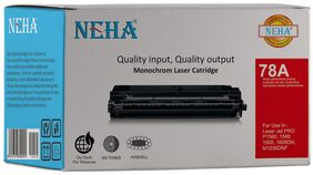 Neha 78A Compatible Laser Toner Cartridge for HP Laserjet Pro P1560,1566,1600,1606DN,M1536DNF