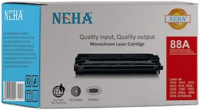 Neha 88A Compatible Laser Toner Cartridge for HP 1007,P1008,P1106,P1108,M202n,M202dw,M126nw,M128fn,M128fw,M226dw,M226dn,M1136,M1213nf,M1216nfh,M1218nfs
