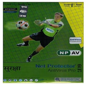 Net Protector Anti-Virus Pro 2019 1 User 1 Year