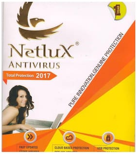 Netlux Total Security Latest Version ( 1 PC / 1 Year ) - CD