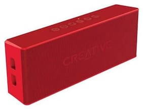 Creative Bluetooth Portable Speaker ( Red )