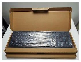 NEW Dell Black USB Slim Windows Enhanced Keyboard KB216 (580-ADMT) - LOT 2 Units