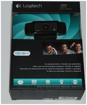 New Logitech HD Pro Webcam C920 Widescreen Video Calling & Recording 1080p Camer