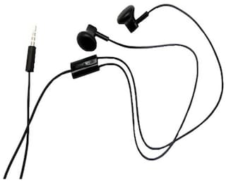 e60885f2612 Buy Nokia WH-108 Wired In Ear Headset (Black) Online at Low Prices ...
